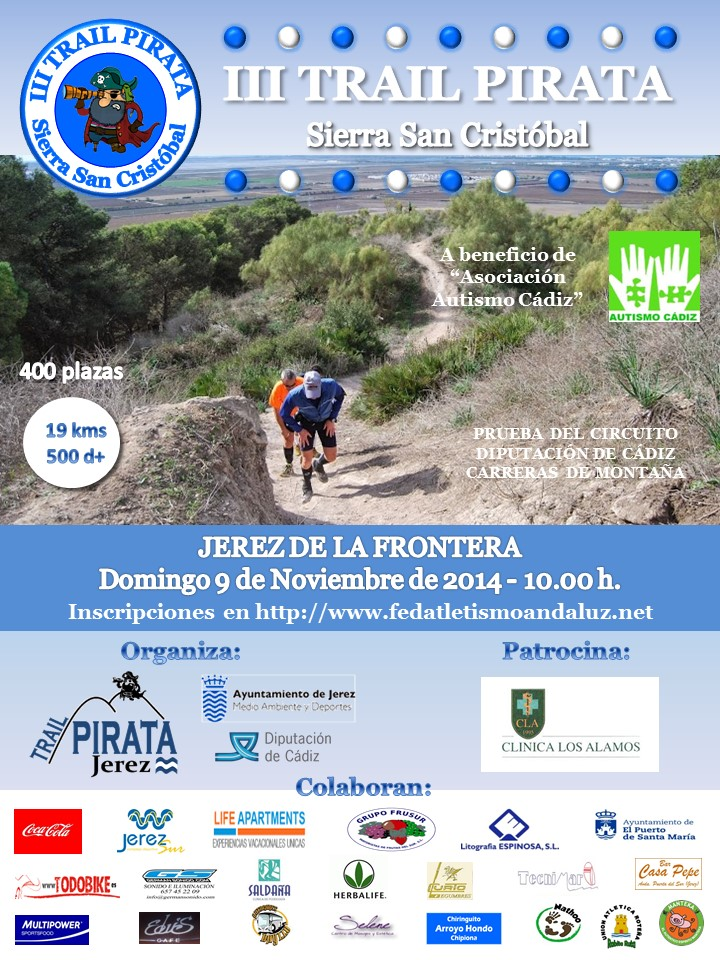 Carrera III Trail Pirata Sierra San Cristobal