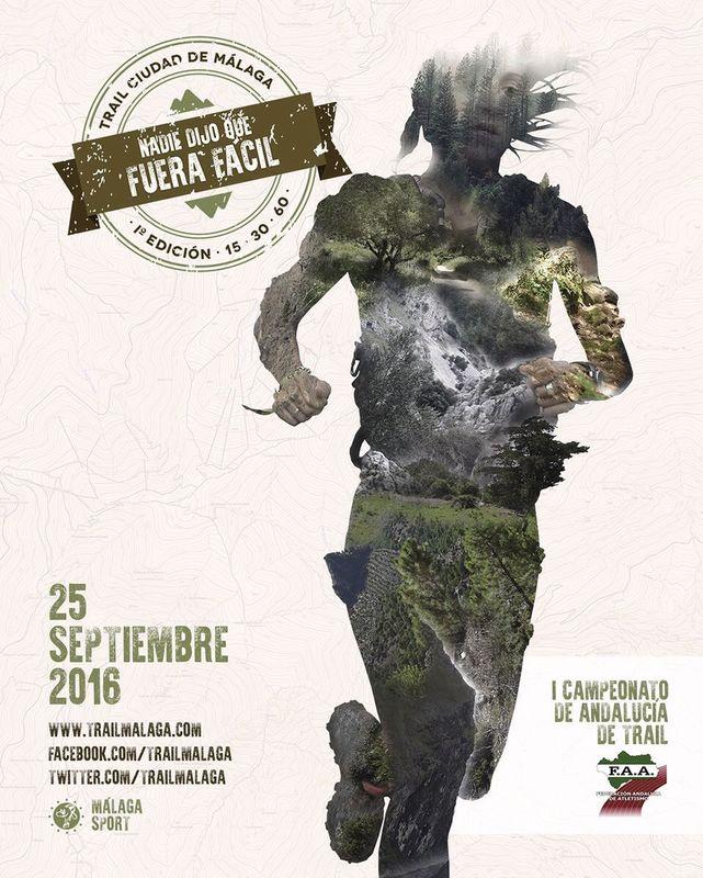 Carrera I Trail Ciudad de Málaga 30K