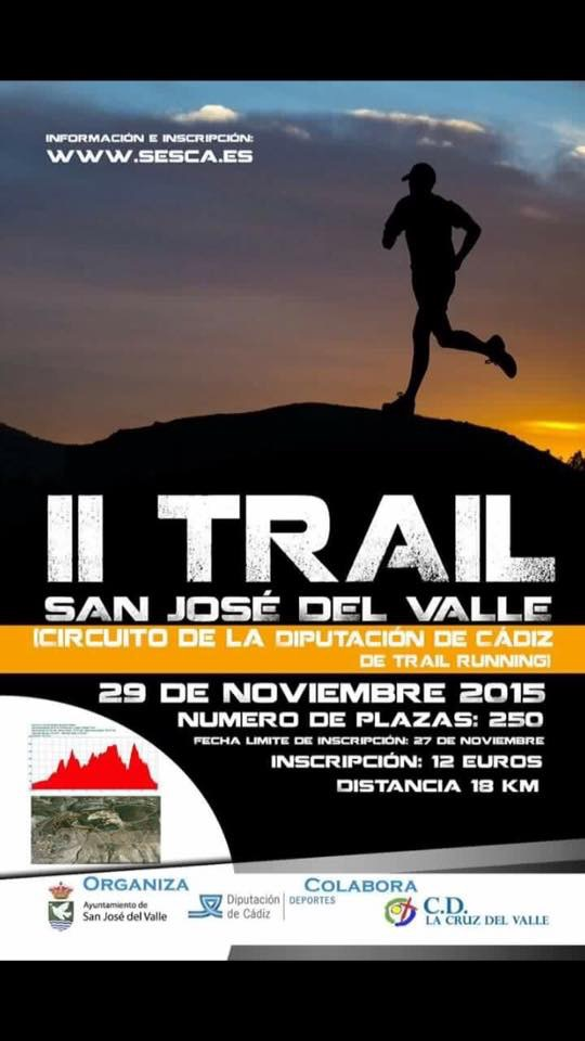 Carrera II Trail Cruz del Valle