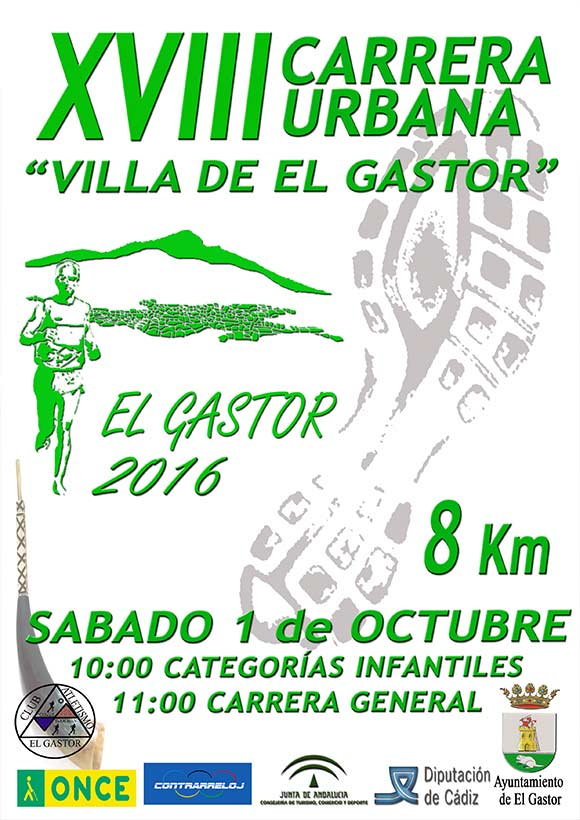 XVIII Carrera Urbana Villa de El Gastor