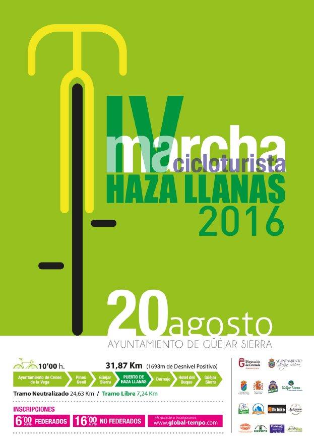 IV Marcha Cicloturista Hazas Llanas