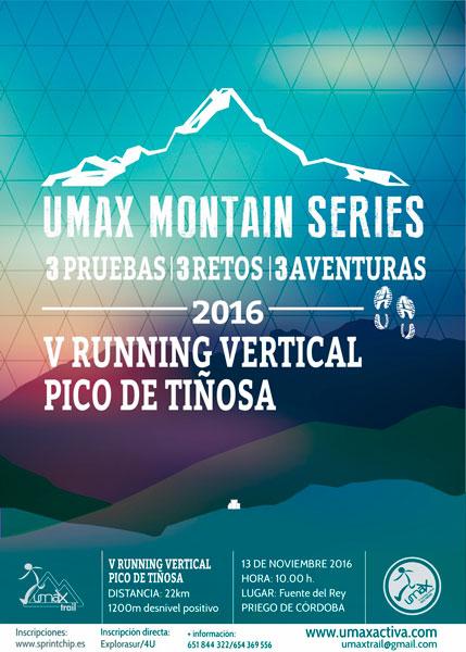 Running Vertical Pico Tiñosa