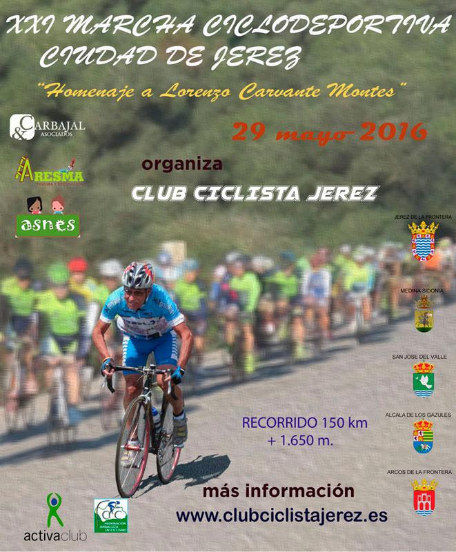 Carrera XXI Marcha Ciclodeportiva Ciudad de Jerez