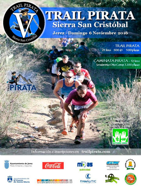 V Trail Pirata Sierra San Cristóbal