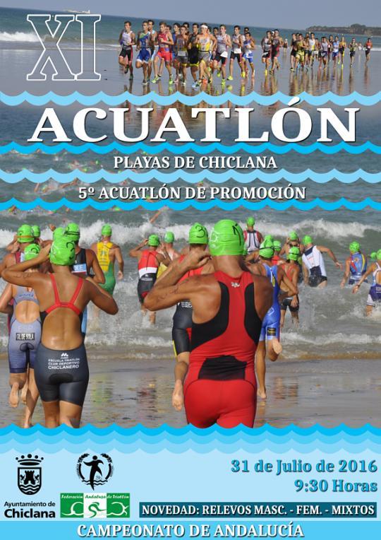 XI Acuatlón Playas De Chiclana
