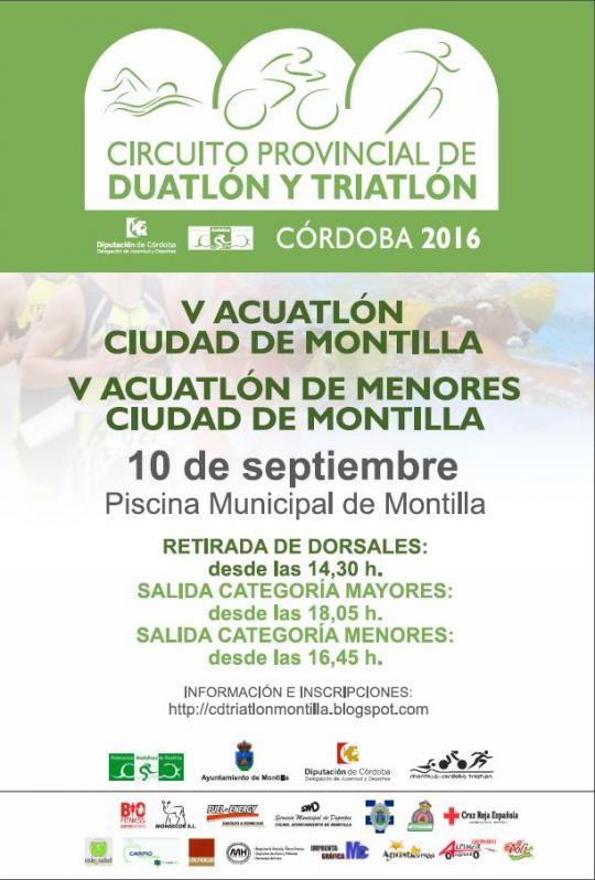 V Acuatlón Ciudad De Montilla