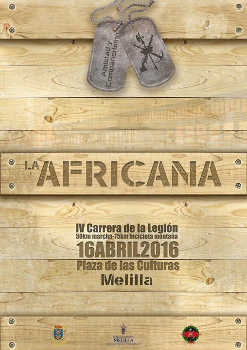 Carrera IV Carrera Africana de la Legión de Melilla