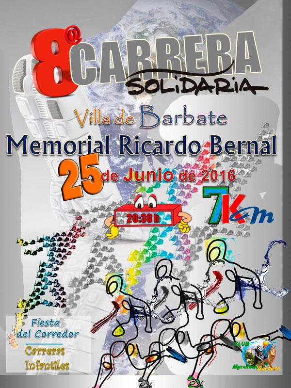 VIII Carrera Solidaria Villa de Barbate Memorial Ricardo Bernal