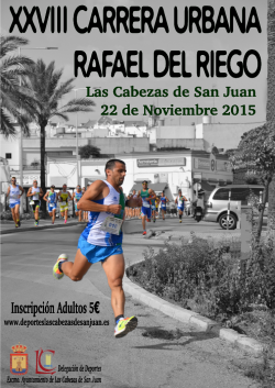 XXXVIII Carrera Urbana Rafael del Riego