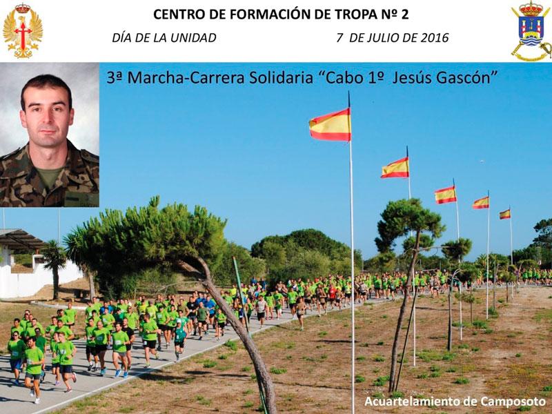 III Carrera Solidaria Cabo 1º Jesús Gascón