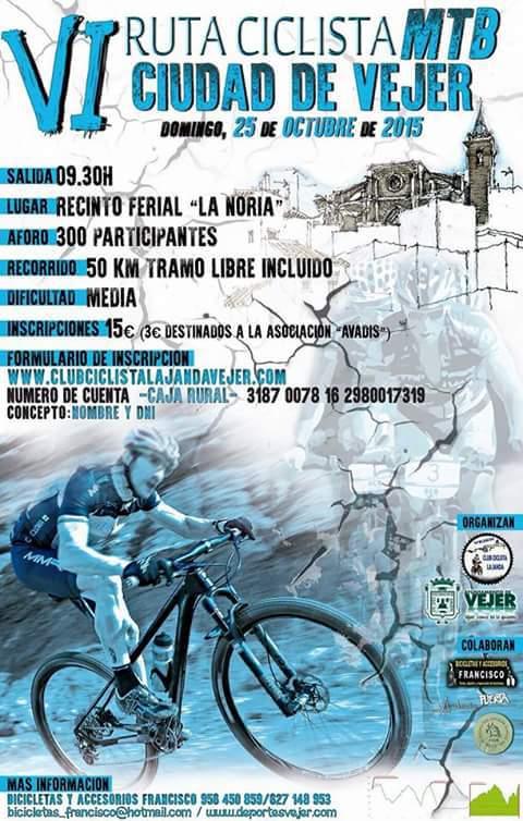 Carrera VI Cicloturista MTB Ciudad de Vejer