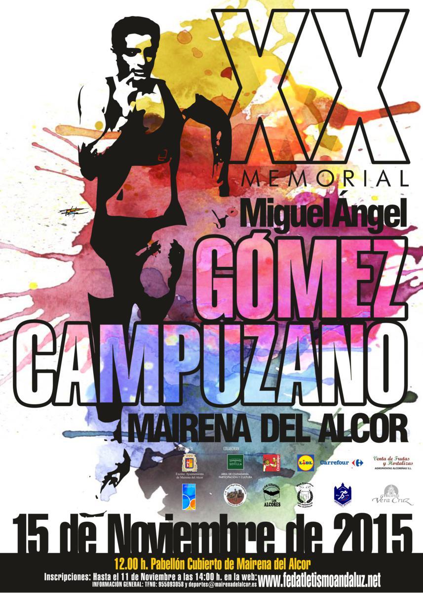 Carrera XX Memorial Miguel Angel Gómez Campuzano