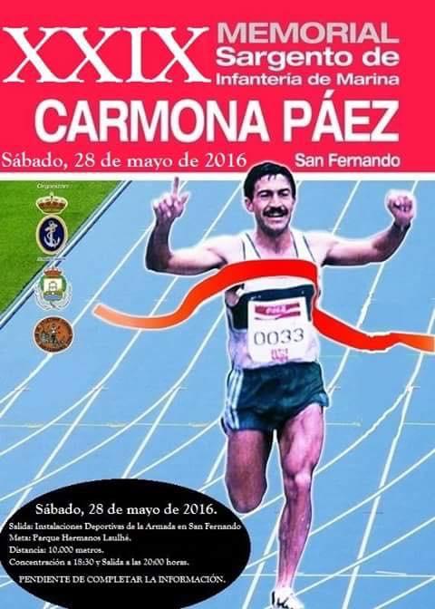 XXIX Memorial Sargento Carmona Páez