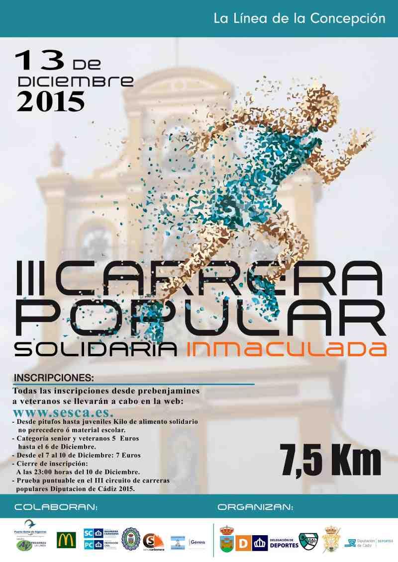 Carrera III Carrera Popular Solidaria Inmaculada
