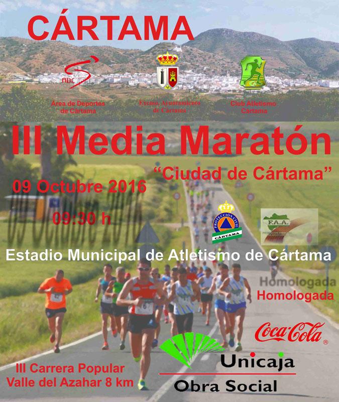 III Media Maratón Ciudad de Cártama