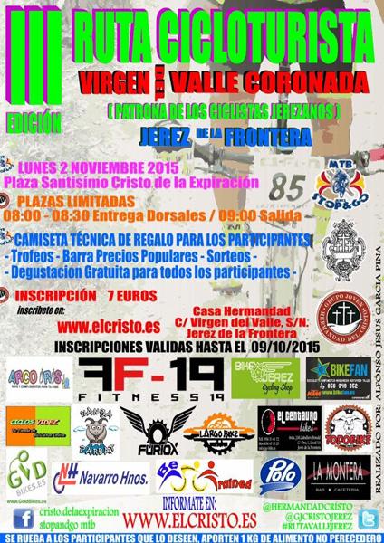 III Ruta Cicloturista Virgen del Valle Coronada