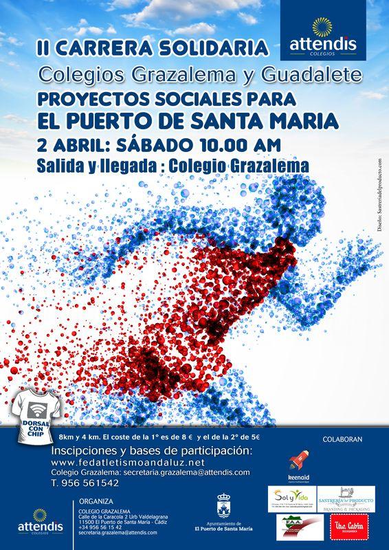 II Carrera Solidaria Colegios de Grazalema y Guadalete
