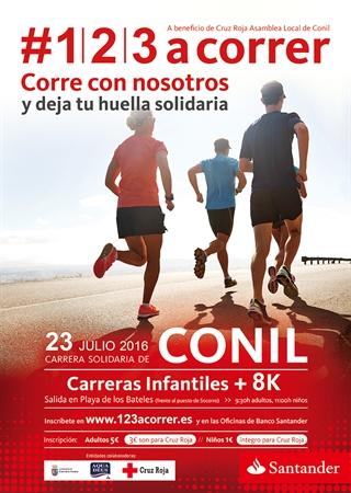 Carrera Solidaria Santander de Conil 2016