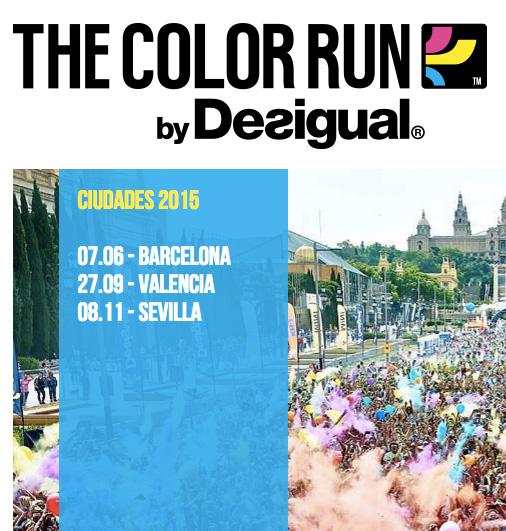 Carrera The Color Run Sevilla
