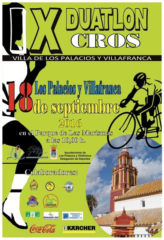 Carrera IX Duatlon Cros Villa De Los Palacios Y Villafranca