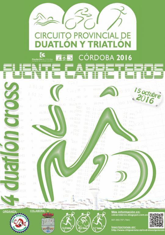 IV Duatlón Cros Fuente Carreteros