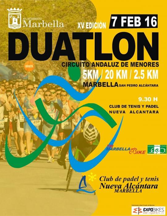 Carrera XV Duatlón Ciudad De Marbella