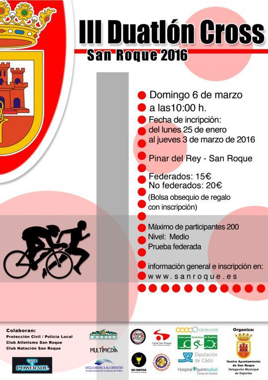 Carrera III Duatlón Cros San Roque
