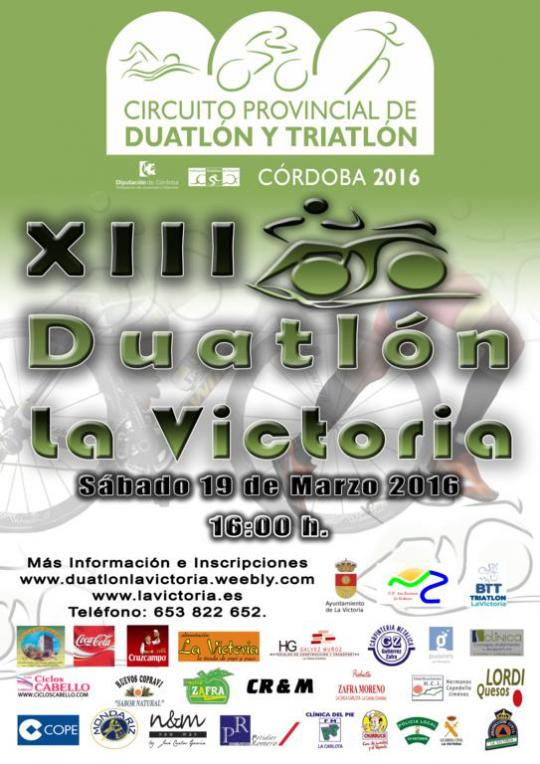 Carrera XIII Duatlón La Victoria