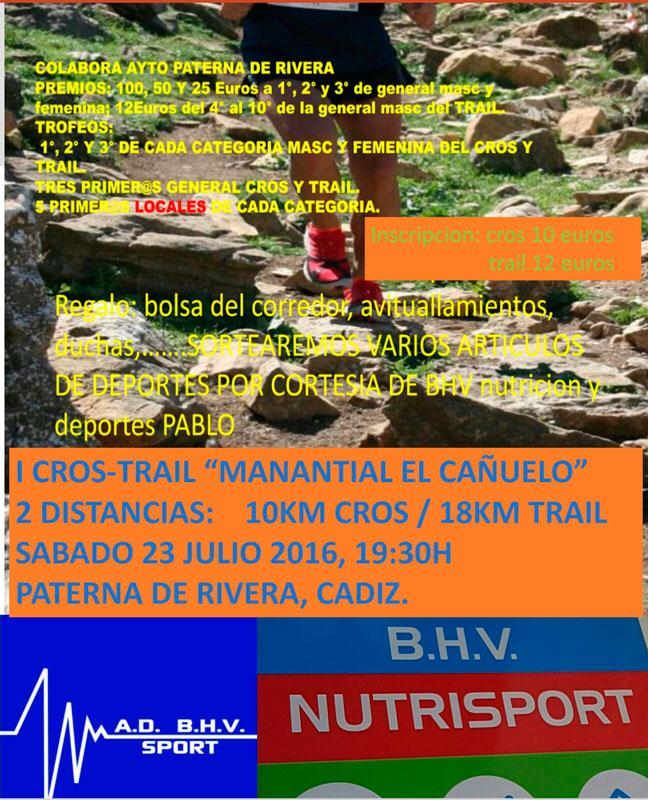 I Cross Trail Manantial EL Cañuelo