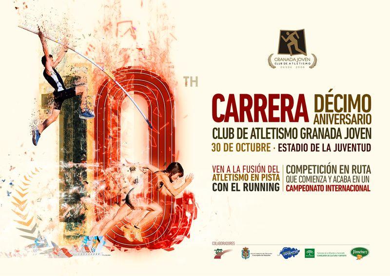 Carrera Décimo Aniversario C.A. Granada Jóven