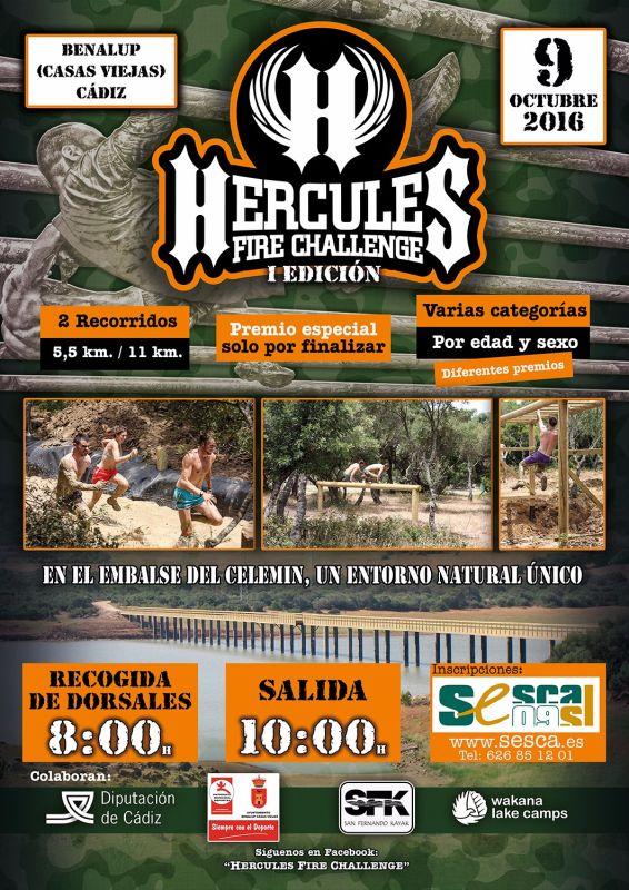 I Hercules Fire Challenge Wakana Lake