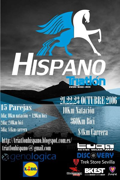 Carrera Triatlón Hispano 2016