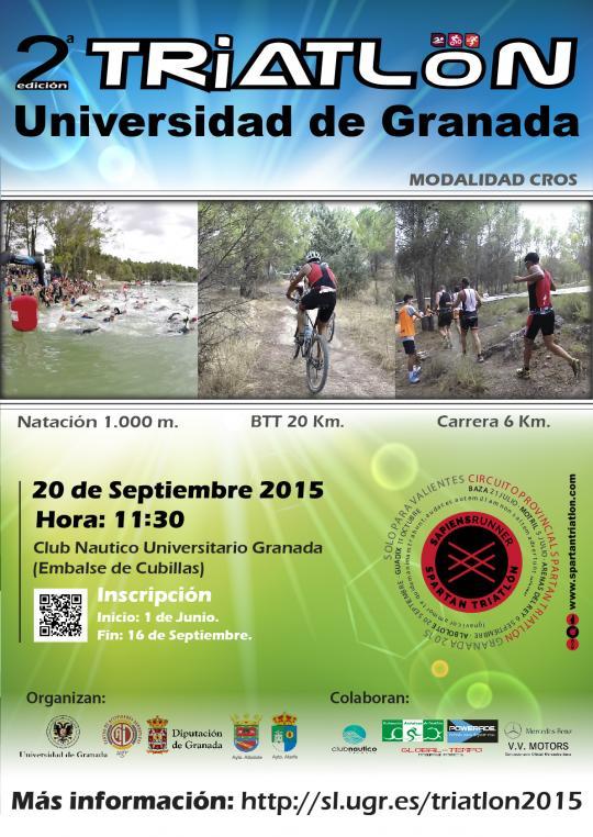 Carrera II Triatlón Cros Universidad de Granada