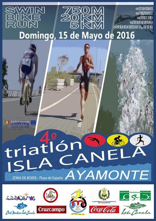 Carrera IV Triatlón Isla Canela