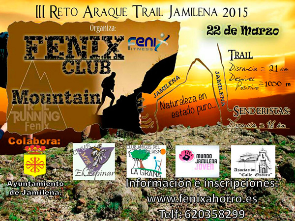 Carrera IV Reto Araque Trail Jamilena 2016