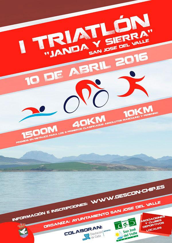 Carrera I Triatlón Olímpico Janda y Sierra