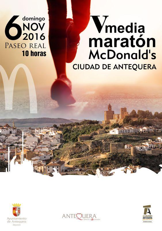 V Media Maratón McDonalds Ciudad de Antequera