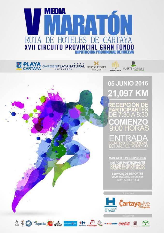 V Media Maratón Ruta de los Hoteles de Cartaya