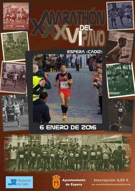 Carrera XXXVI Maratón del Pavo de Espera