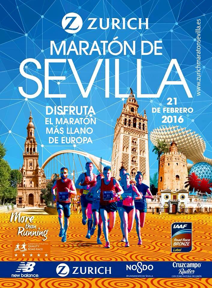 Carrera XXXII Zurich Maratón de Sevilla