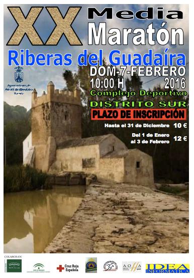 Carrera XX Media Maratón Riberas del Guadaíra