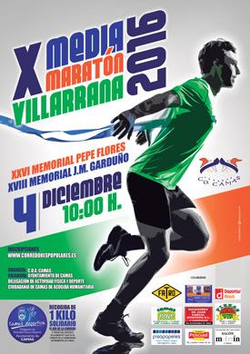 Carrera X Media Maratón Villarrana