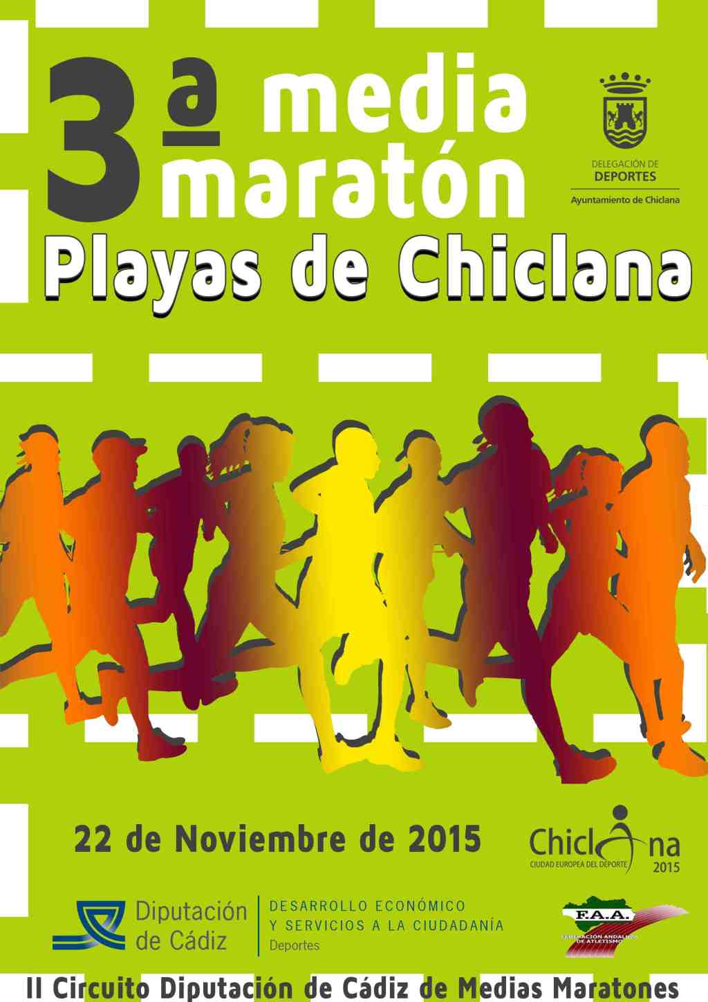 Carrera III Media Maratón Playas de Chiclana