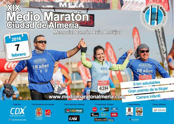Carrera XIX Medio Maratón Ciudad de Almería