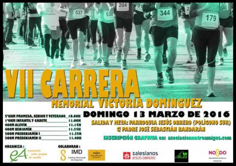 VII Carrera Memorial Victoria Domínguez