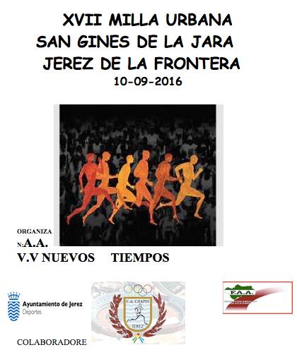 XVII Milla Urbana San Ginés de la Jara