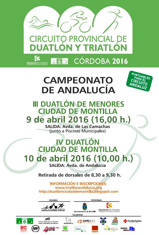 Carrera IV Duatlón Ciudad De Montilla