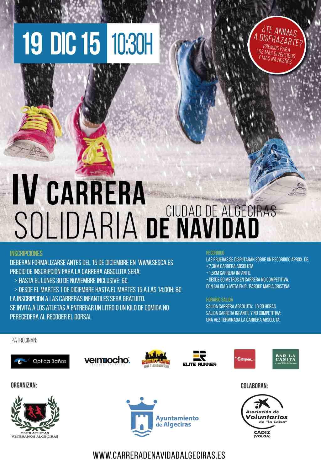 Carrera IV Carrera Solidaria Navidad de Algeciras