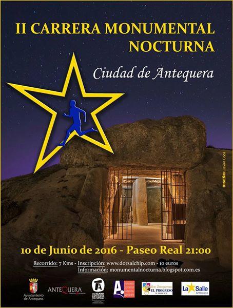II Carrera Monumental Nocturna Ciudad de Antequera