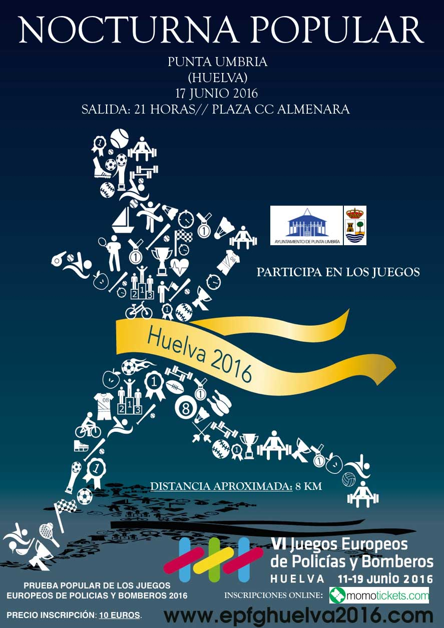 Carrera Nocturna EPFG 2016